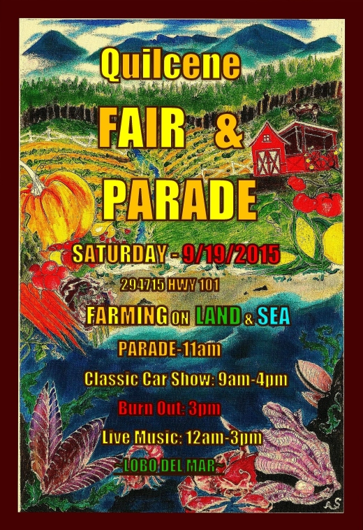 2015 Quilcene Fair Poster
